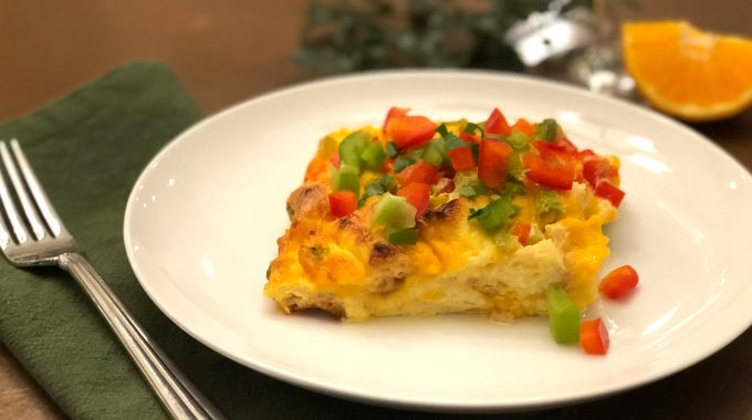 Egg Cheese Strata Recipe