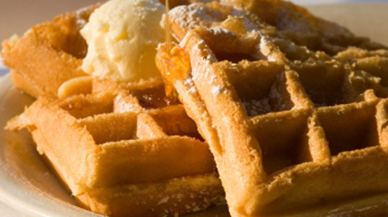 Belgian Waffles that Wow!