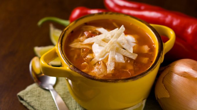 Mexican Tortilla Soup
