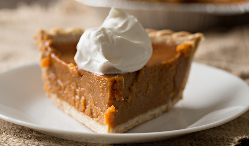 Pumpkin Pie with Coconut Milk and Anise Seed