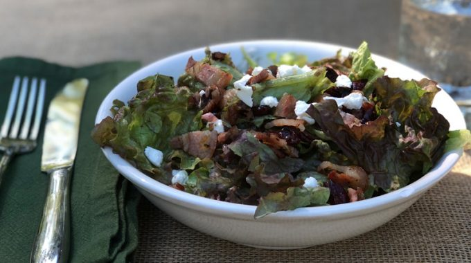 salad-cherries-goat-cheese-recipe