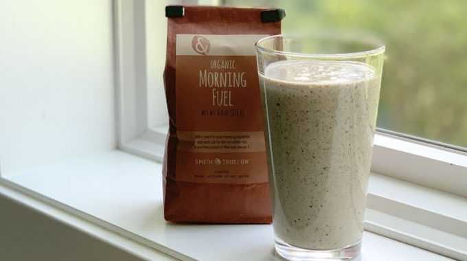 Morning Fuel breakfast smoothie