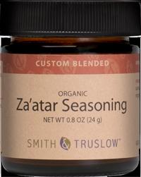 Smith & Truslow custom-blended organic Za'atar Seasoning