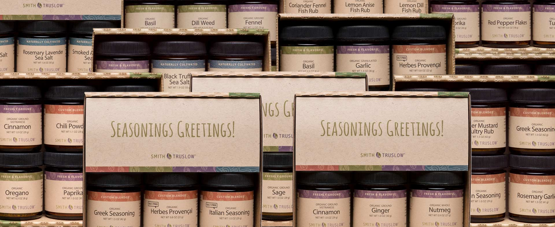 Organic Holiday Spice Gift Sets