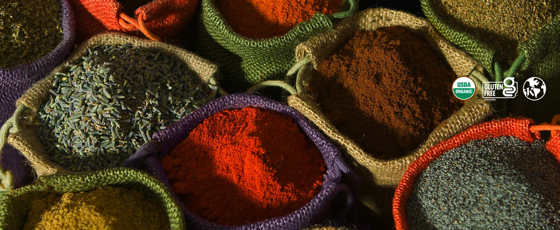 Organic Spices Freshly Ground